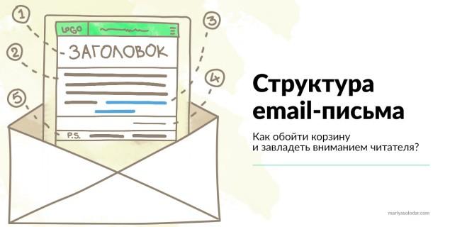 Структура email-письма. Как завладеть вниманием читателя?